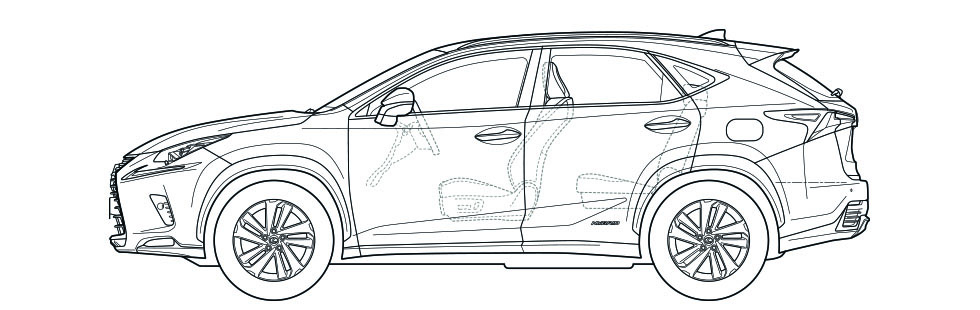 NX Side Dimensions