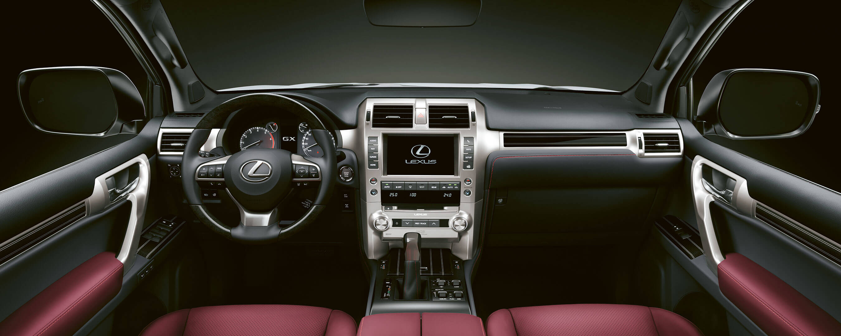 2019 lexus gx experience interior front