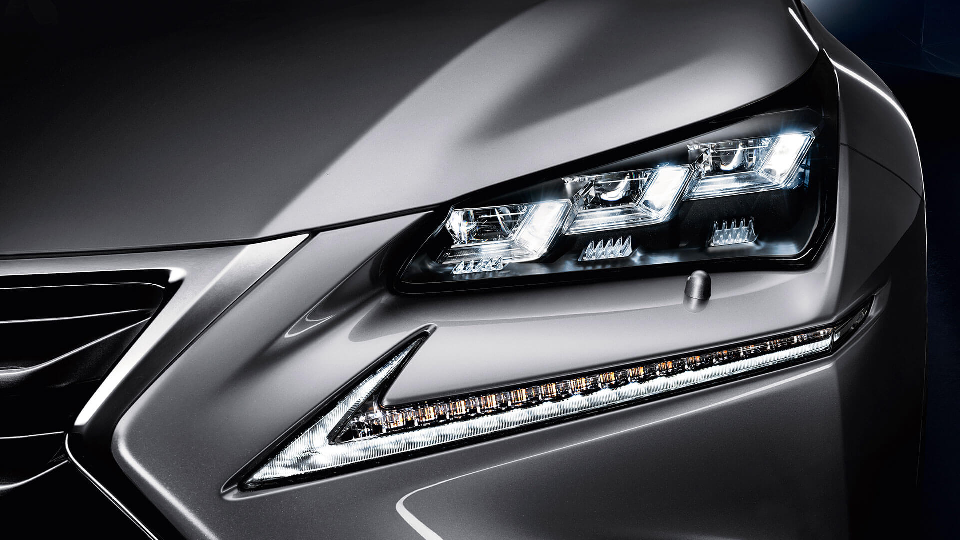 2017 lexus nx 300h features triple led highlights
