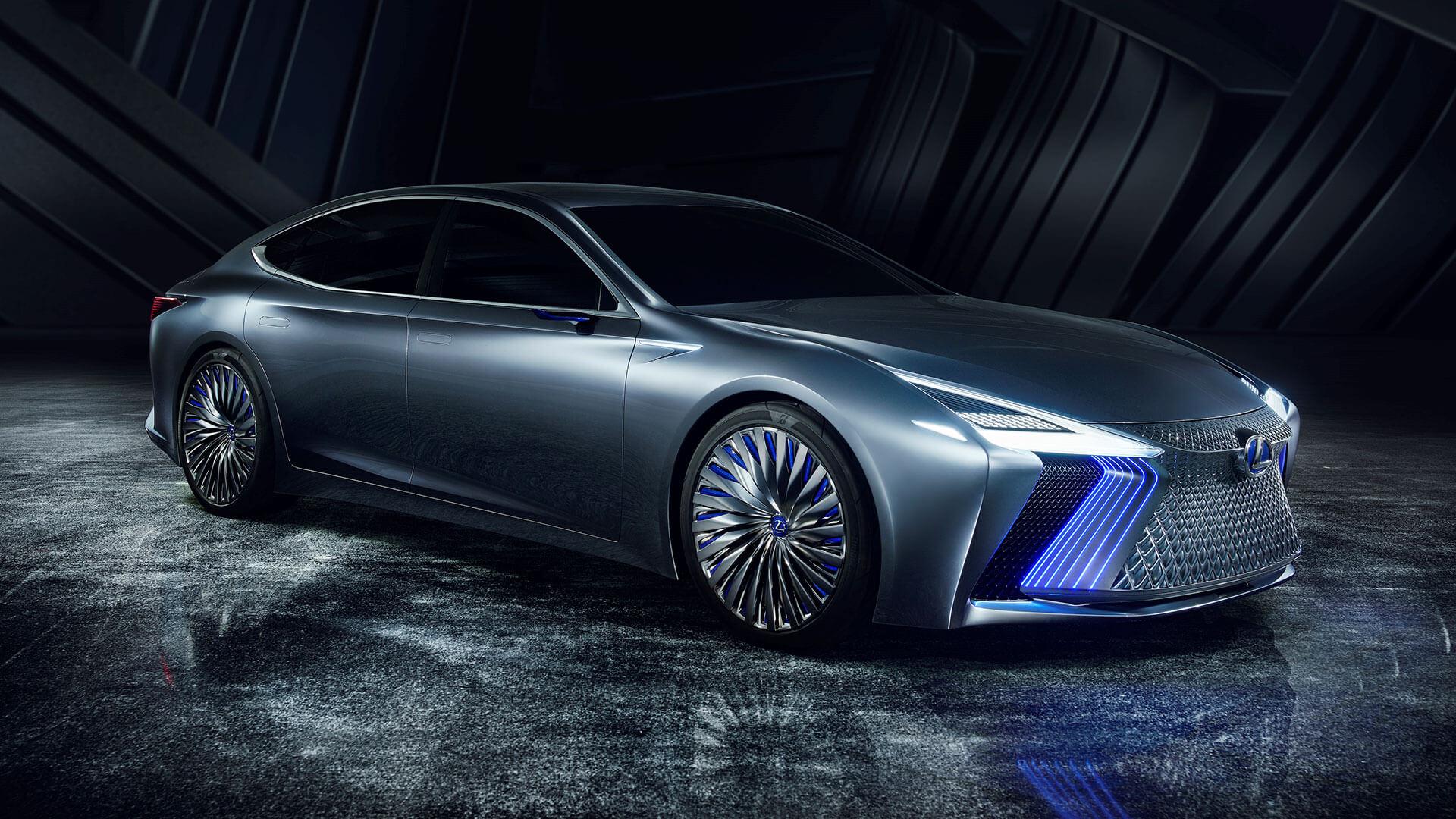 lexus ls concept tokyo motor show gallery 005