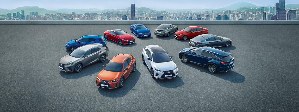 2019 lexus hybrid overview range