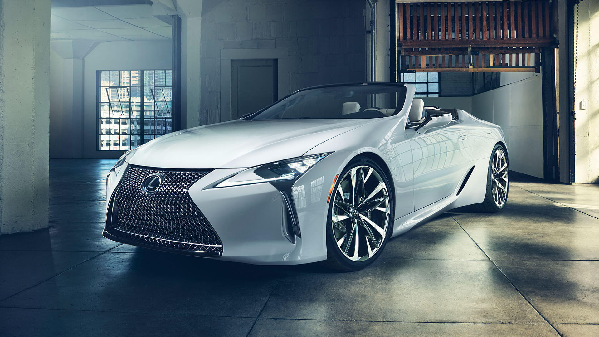 2019 lexus lc convertible hero