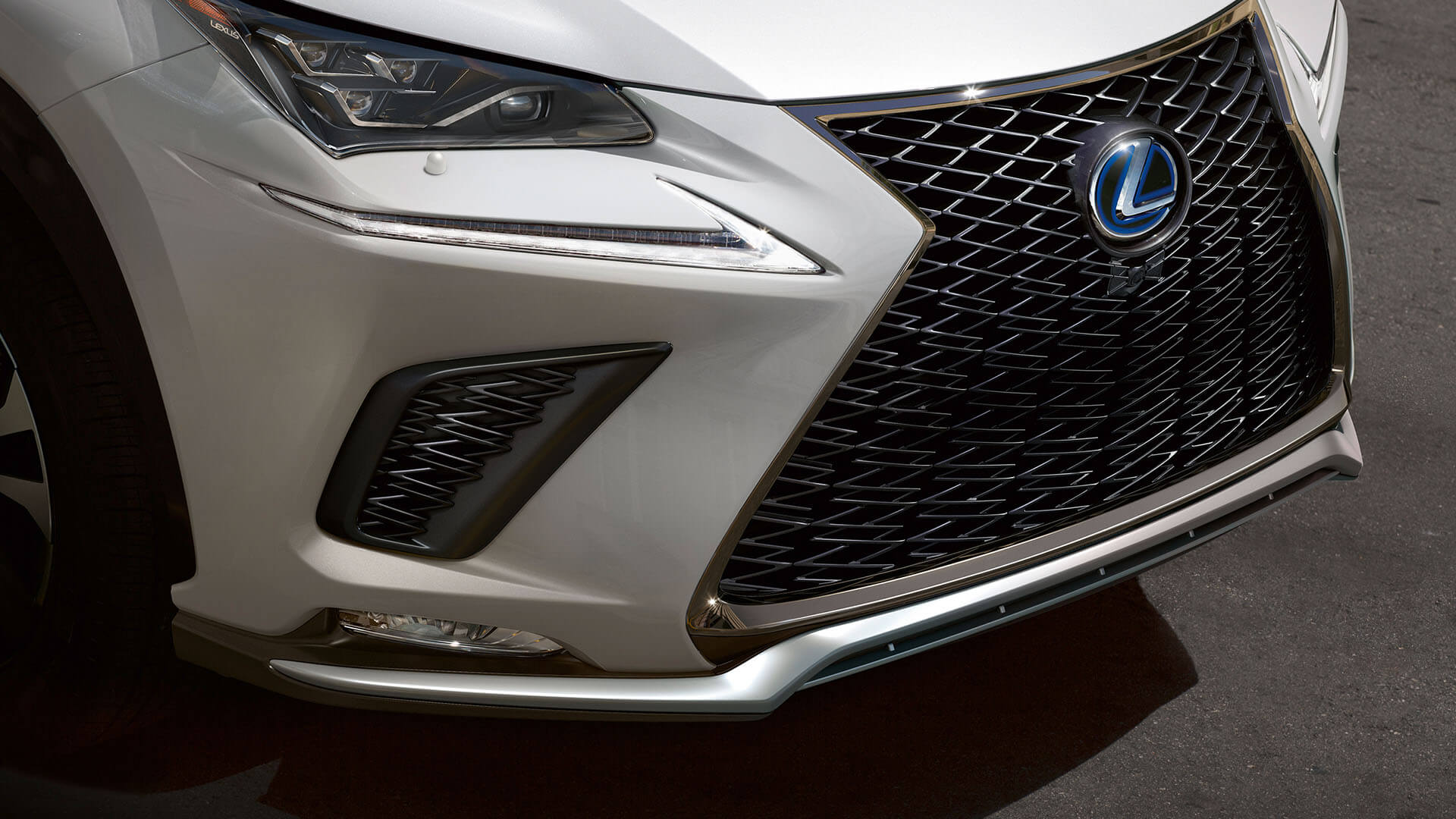2019 lexus nx experience spindle grille