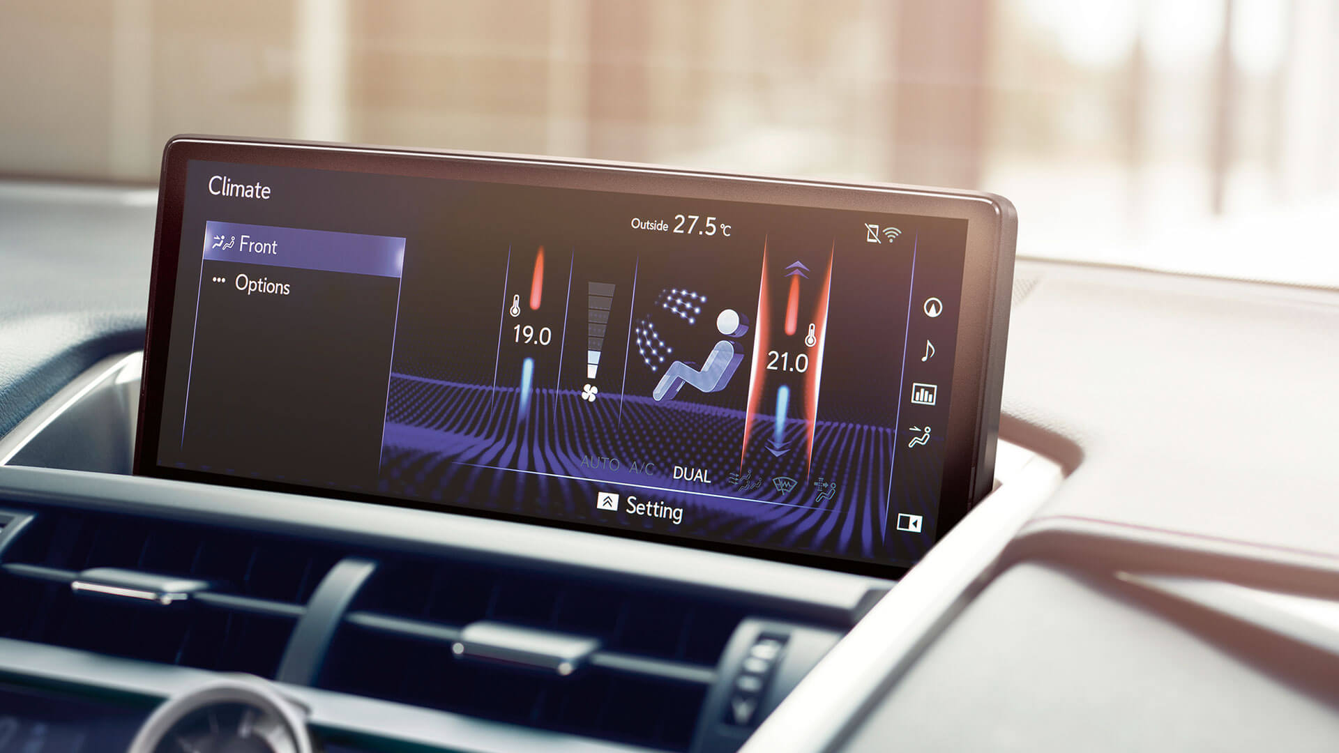 2018 lexus nx my18 features climate control