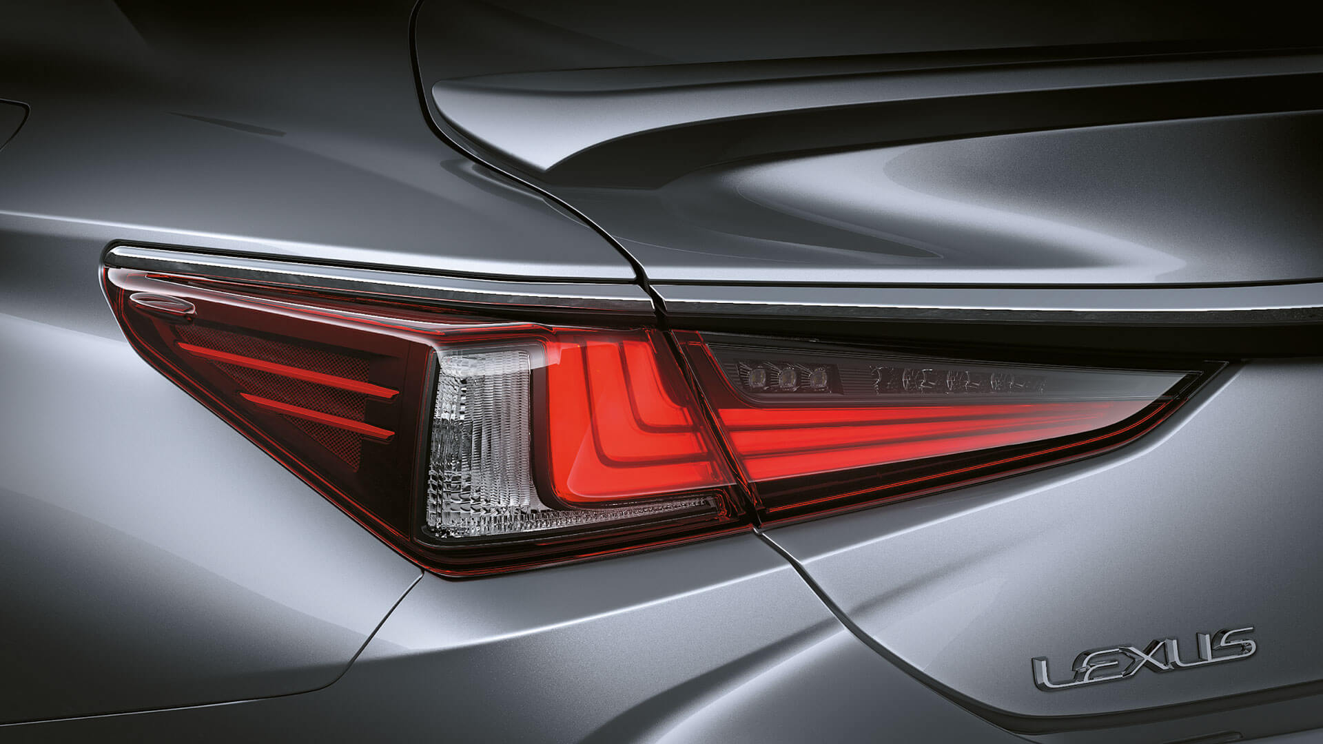 2019 lexus es hybrid experience feature rear led lights