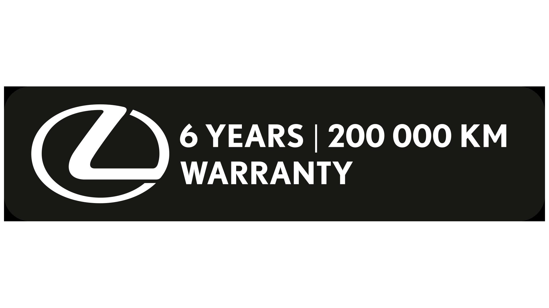 Lexus 200km years logo image