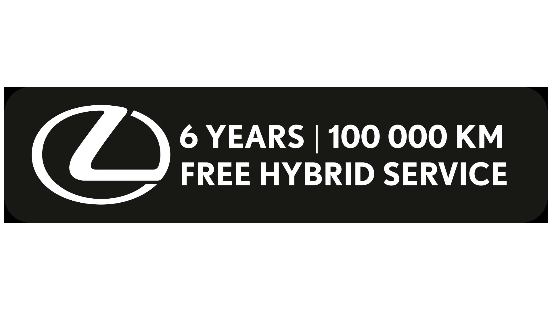 Lexus 6 years logo image
