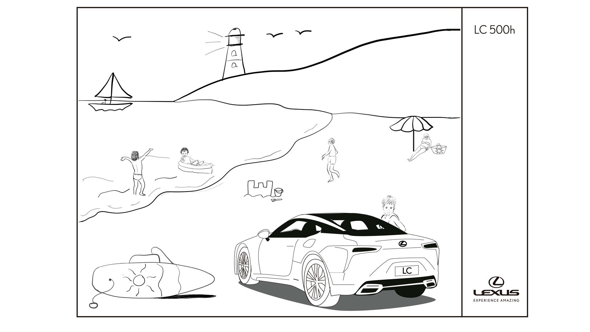 Изображение на хибридно превозно средство Lexus