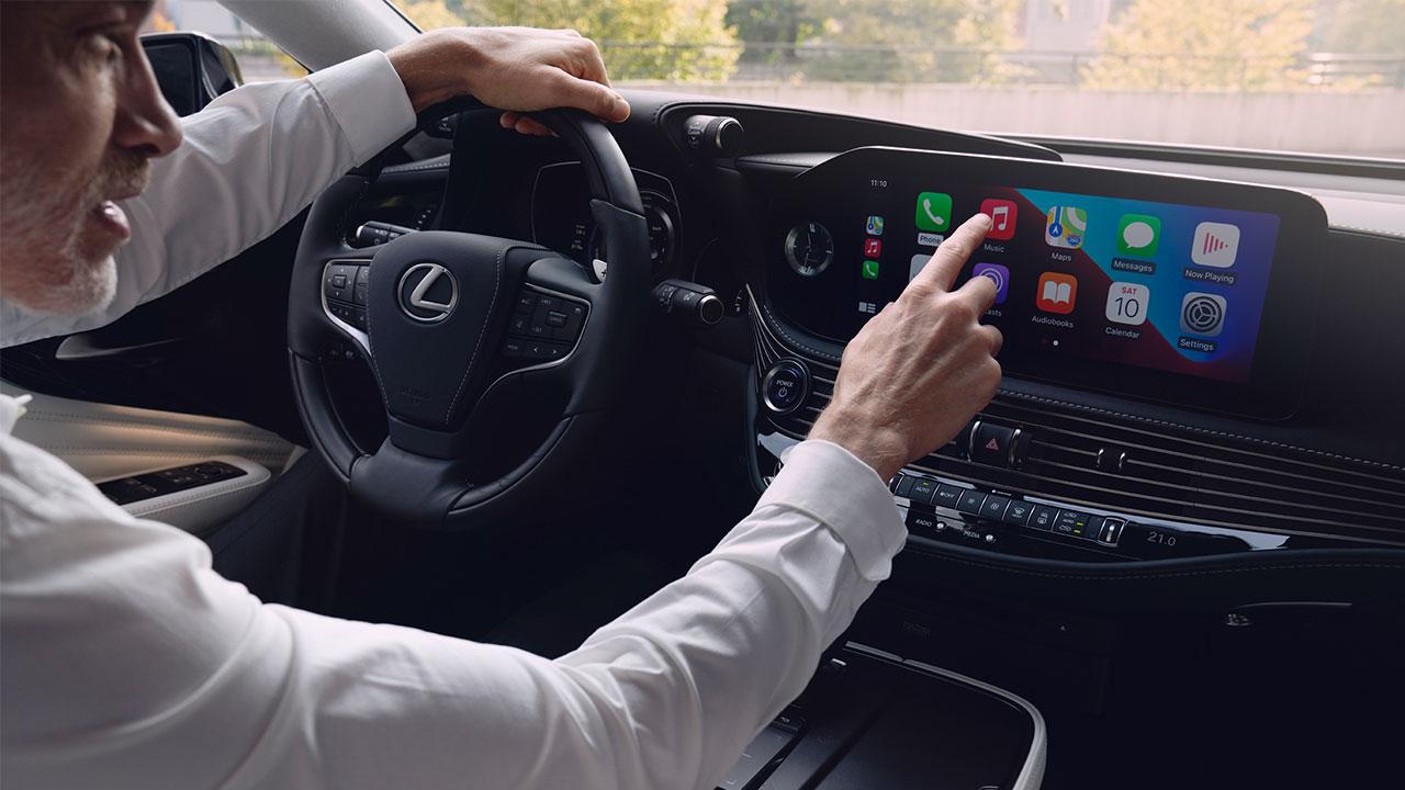 2020 lexus ls experience touchscreen display