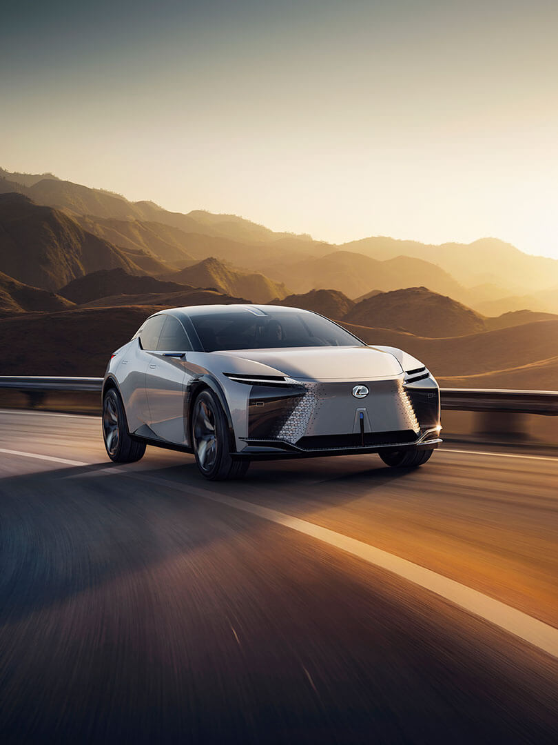 2021 lexus lfz article human machine connection