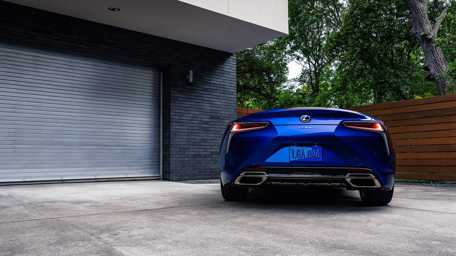 Lexus LC Cabrio Heck