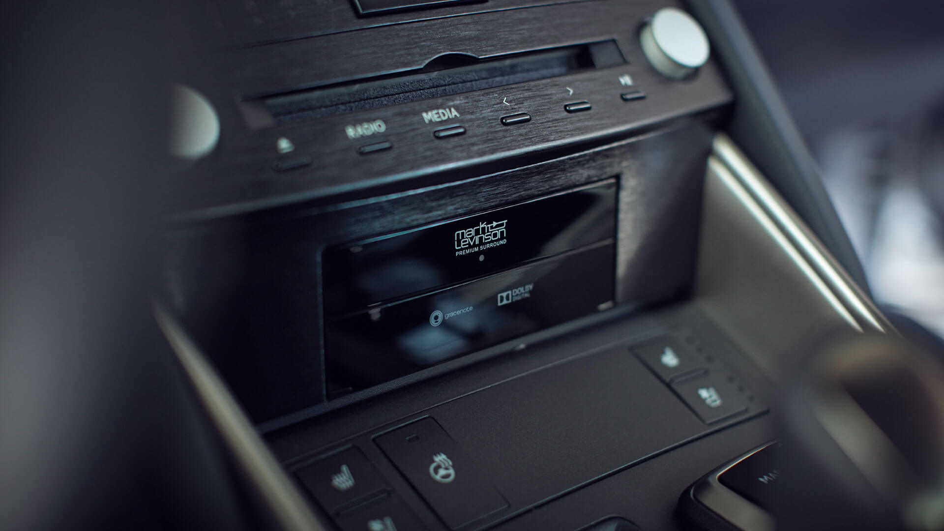 Lexus IS Radio
