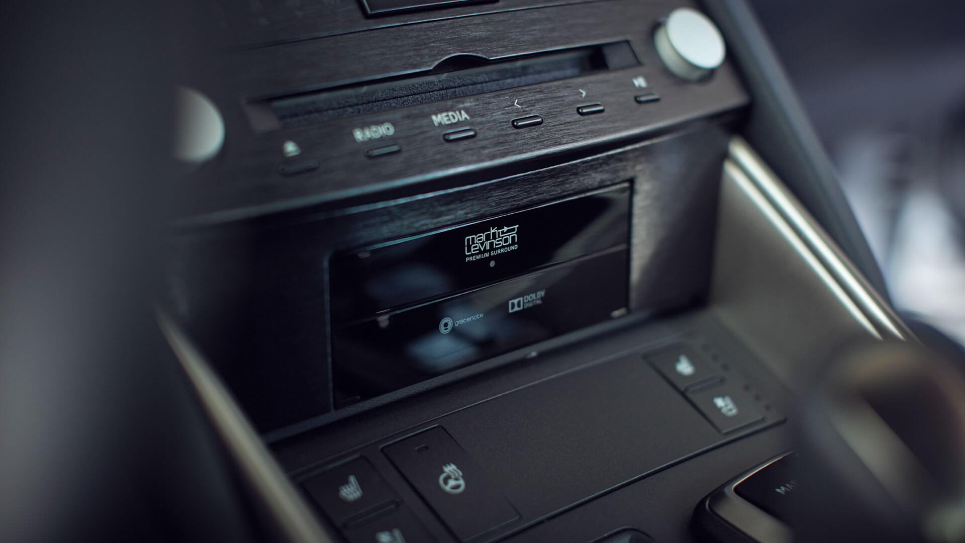 Lexus IS Radio