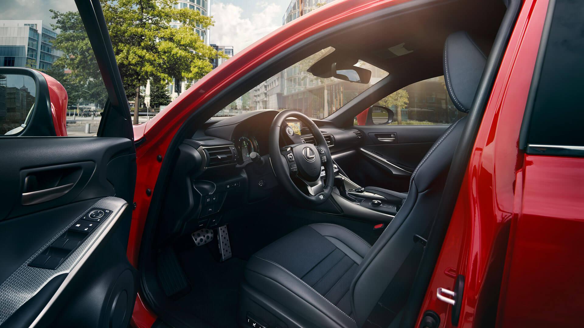 Lexus IS Interior Fahrerseite