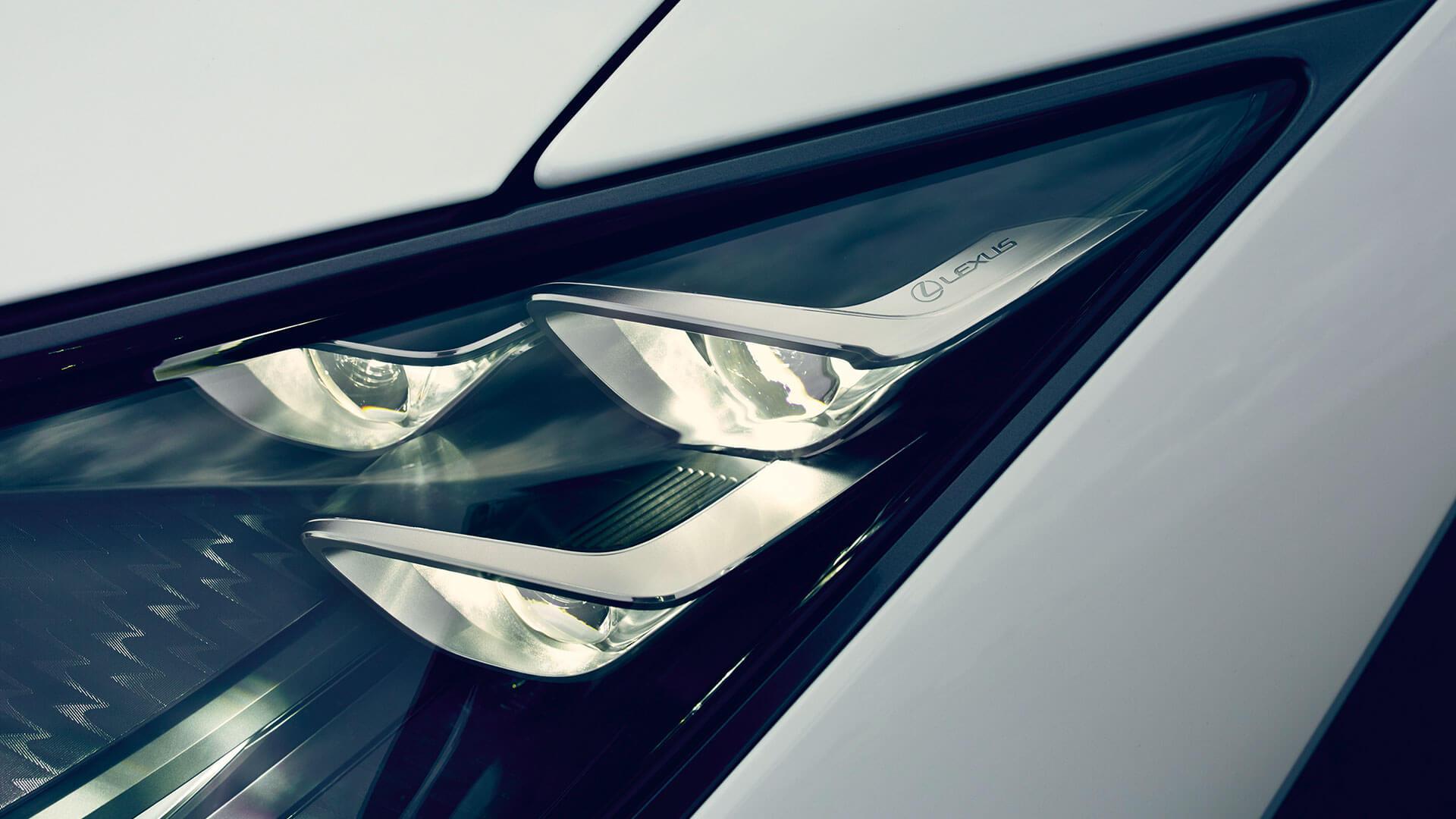 Lexus LC Scheinwerfer