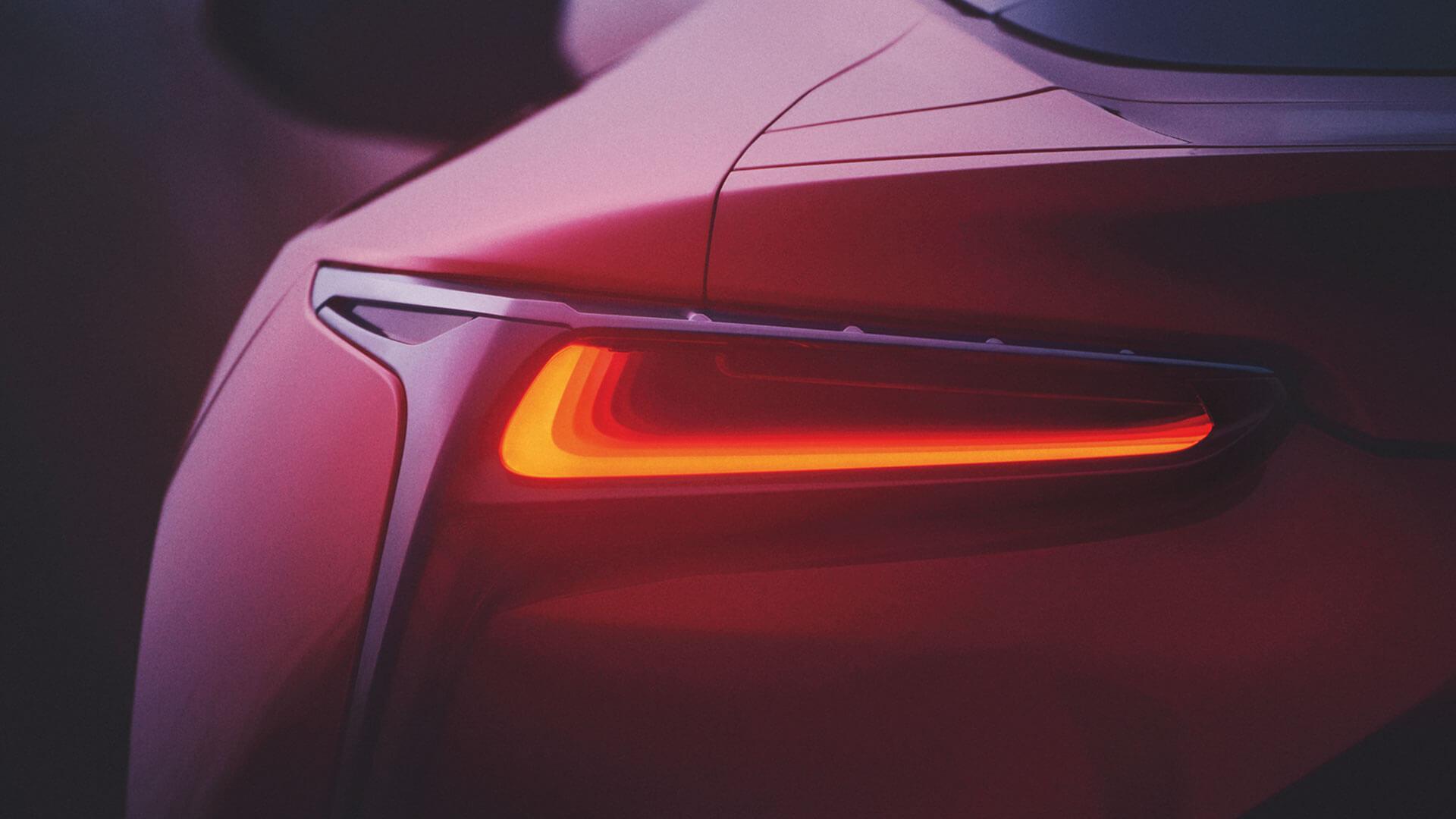 Lexus LC Exterior Rücklicht
