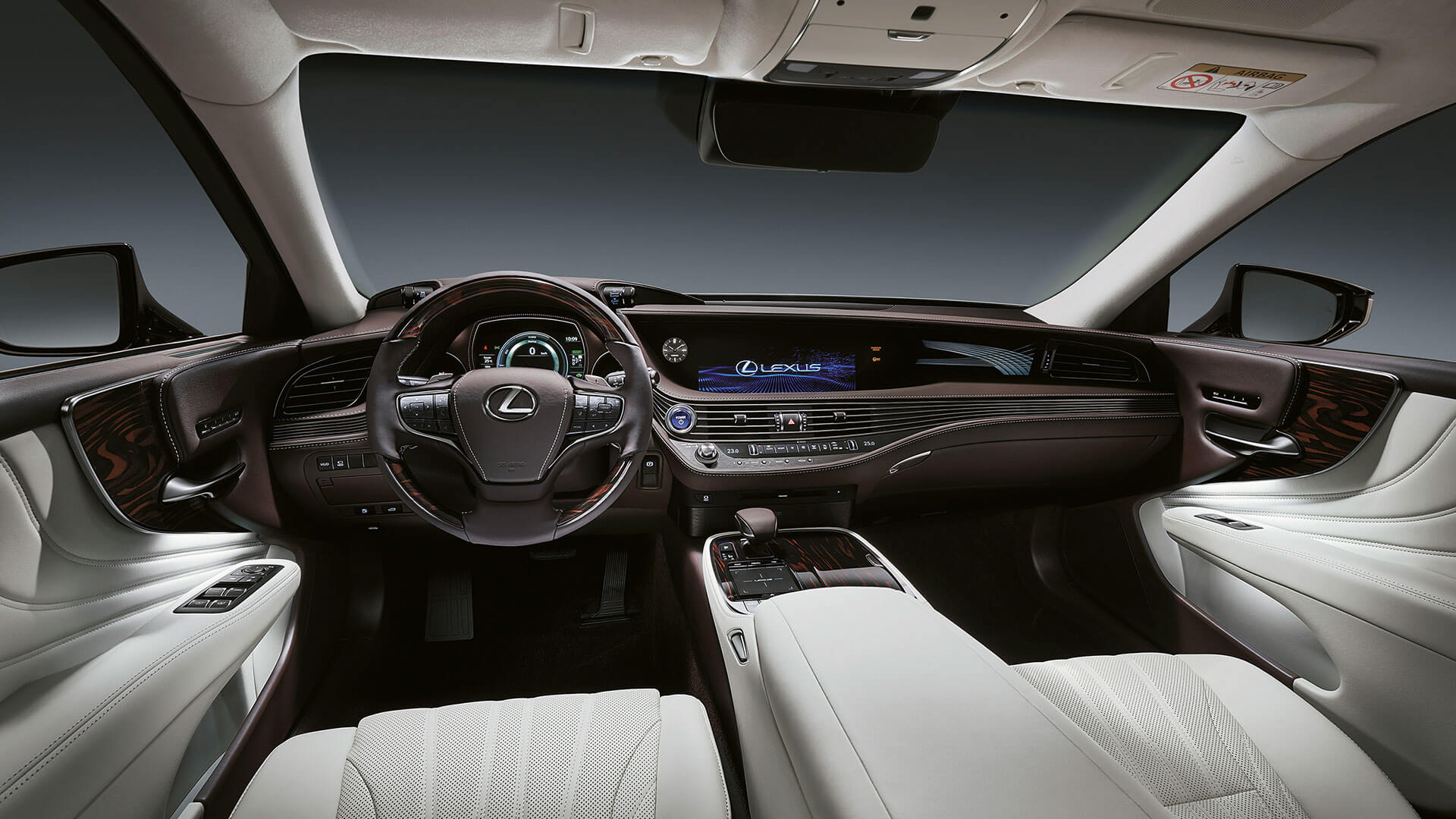 2018 lexus ls features driver focused cockpit