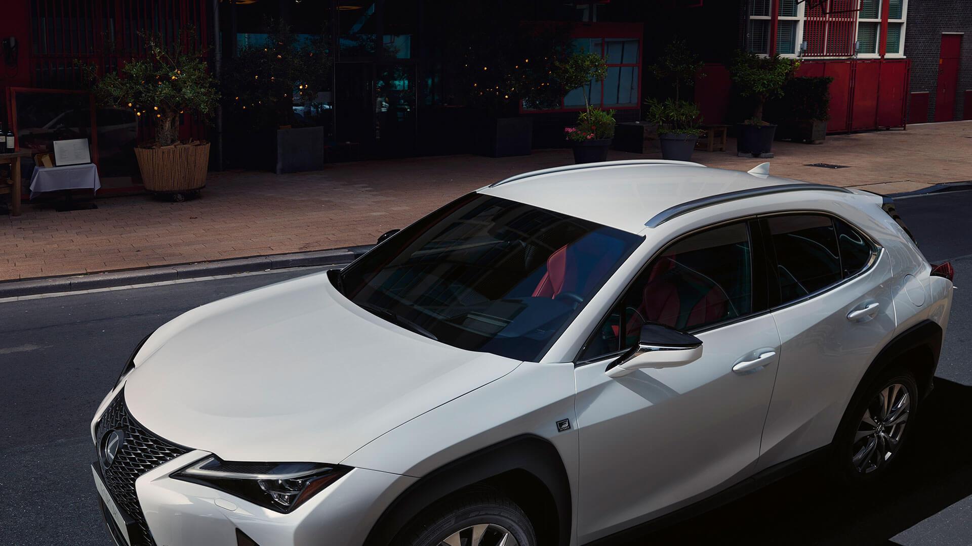 Lexus UX weiß Dach