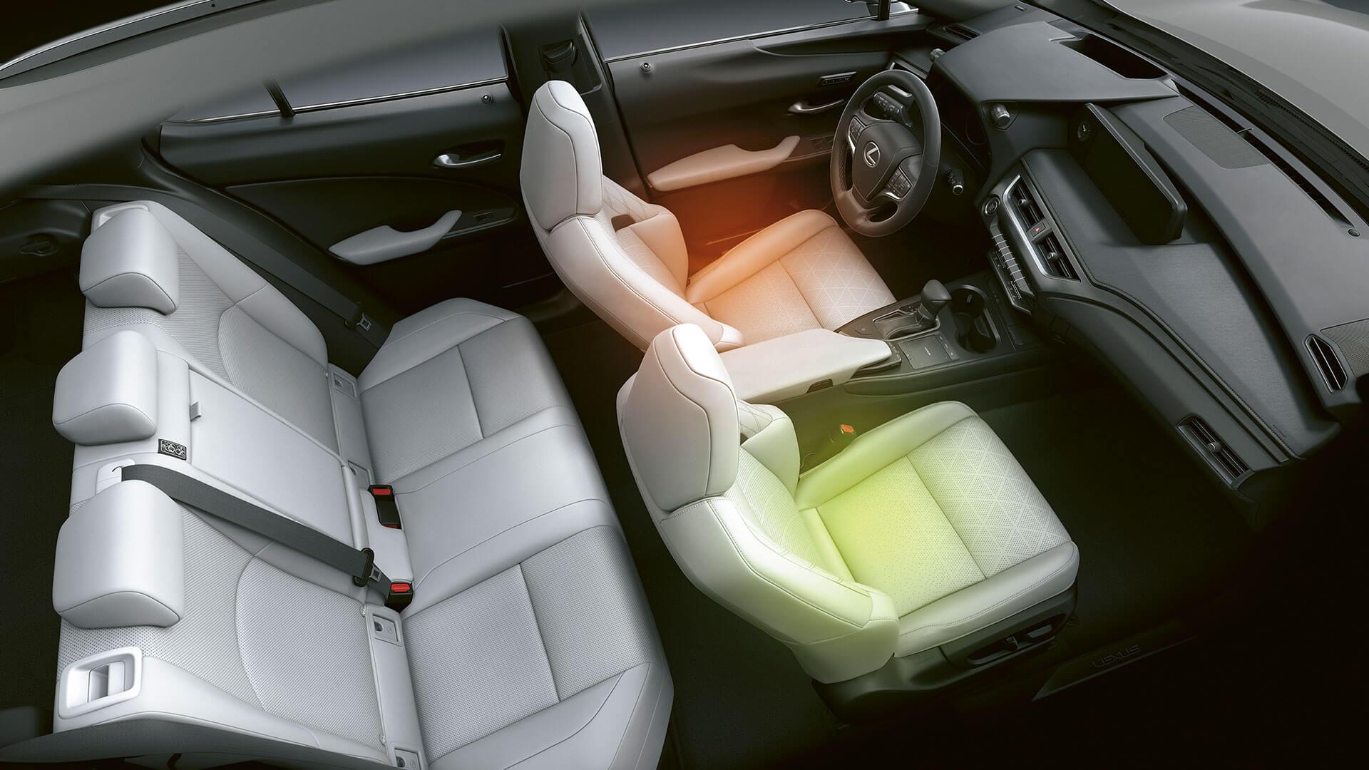 Lexus UX Sitzheizung