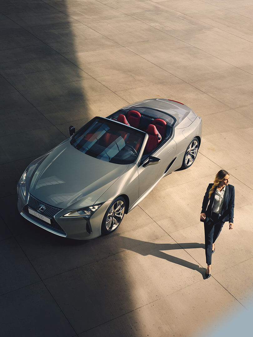 2020 lexus lc convertible left right feature beauty in every