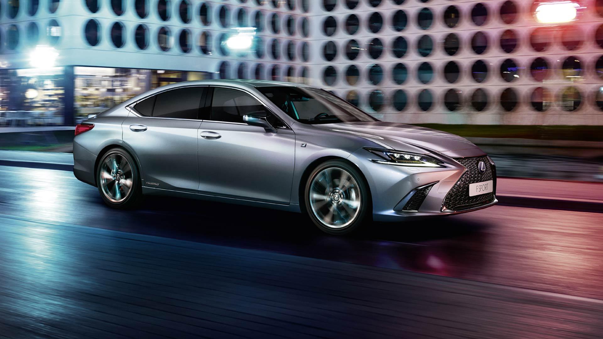 Lexus ES 300h Seitenansicht
