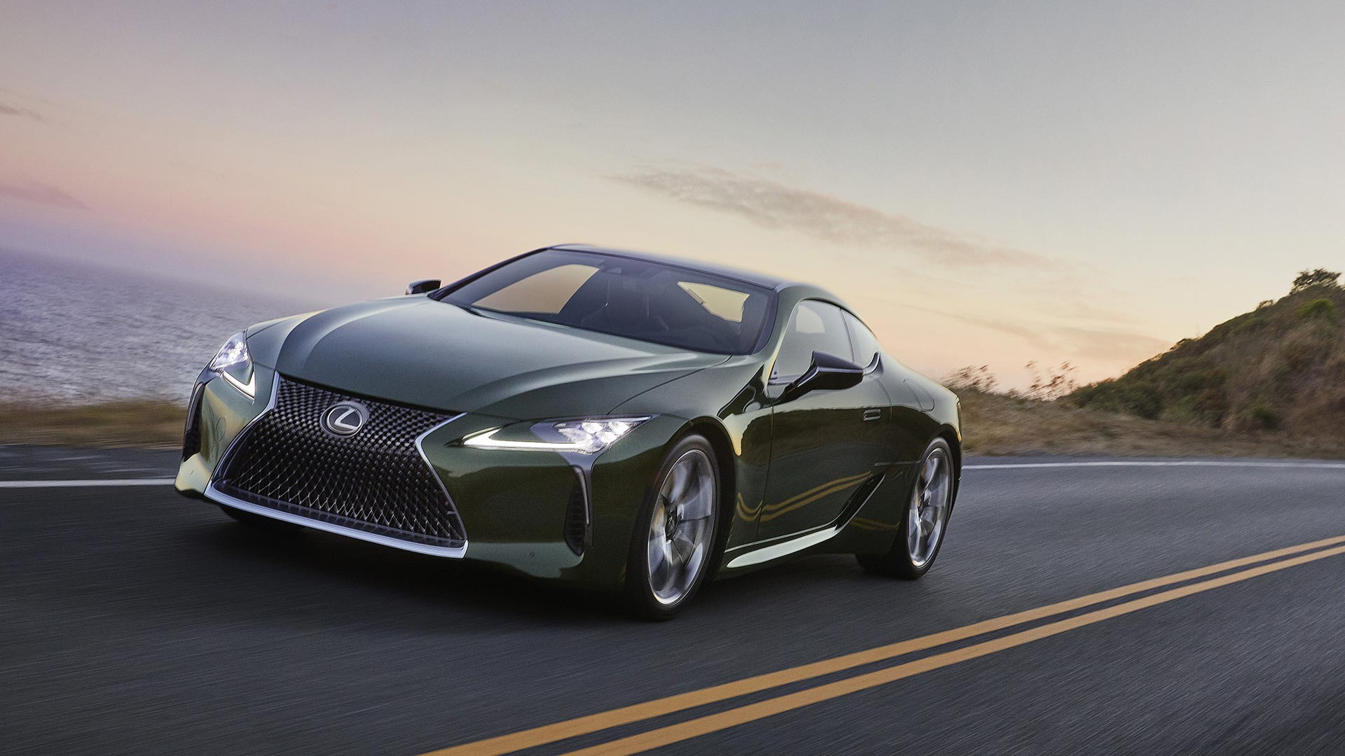 Lexus LC Club Edition 2020 Frontansicht