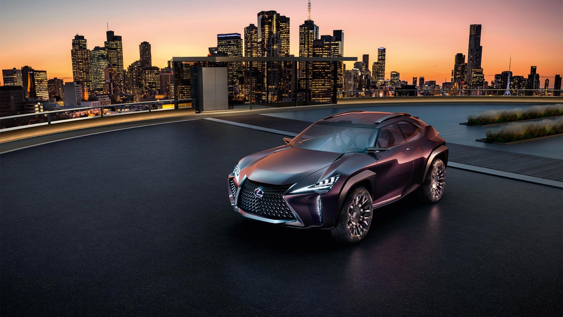 Lexus UX Konzept Auto
