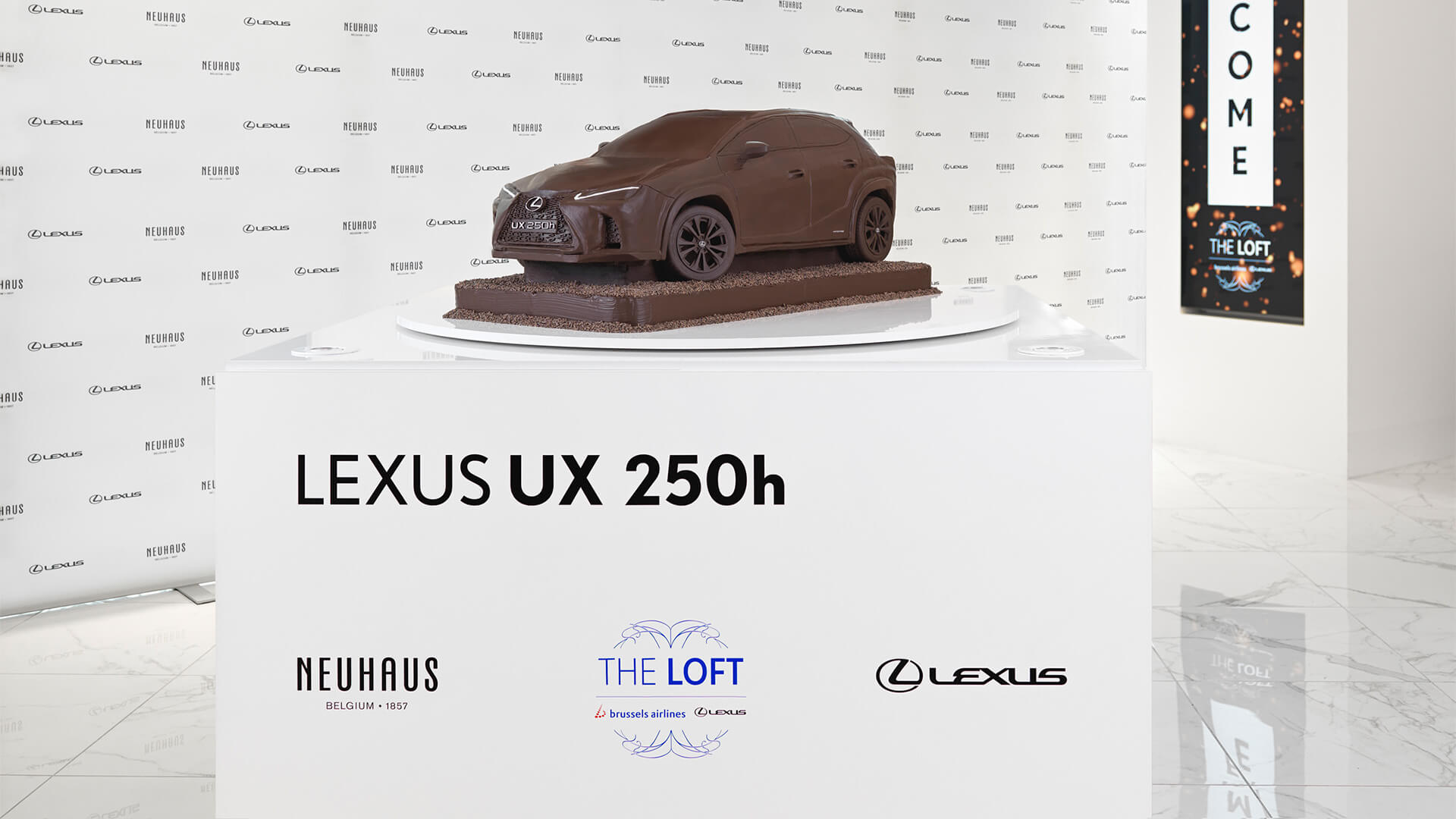 2019 lexus lounge UX Chocolate Car 1920x1080 04