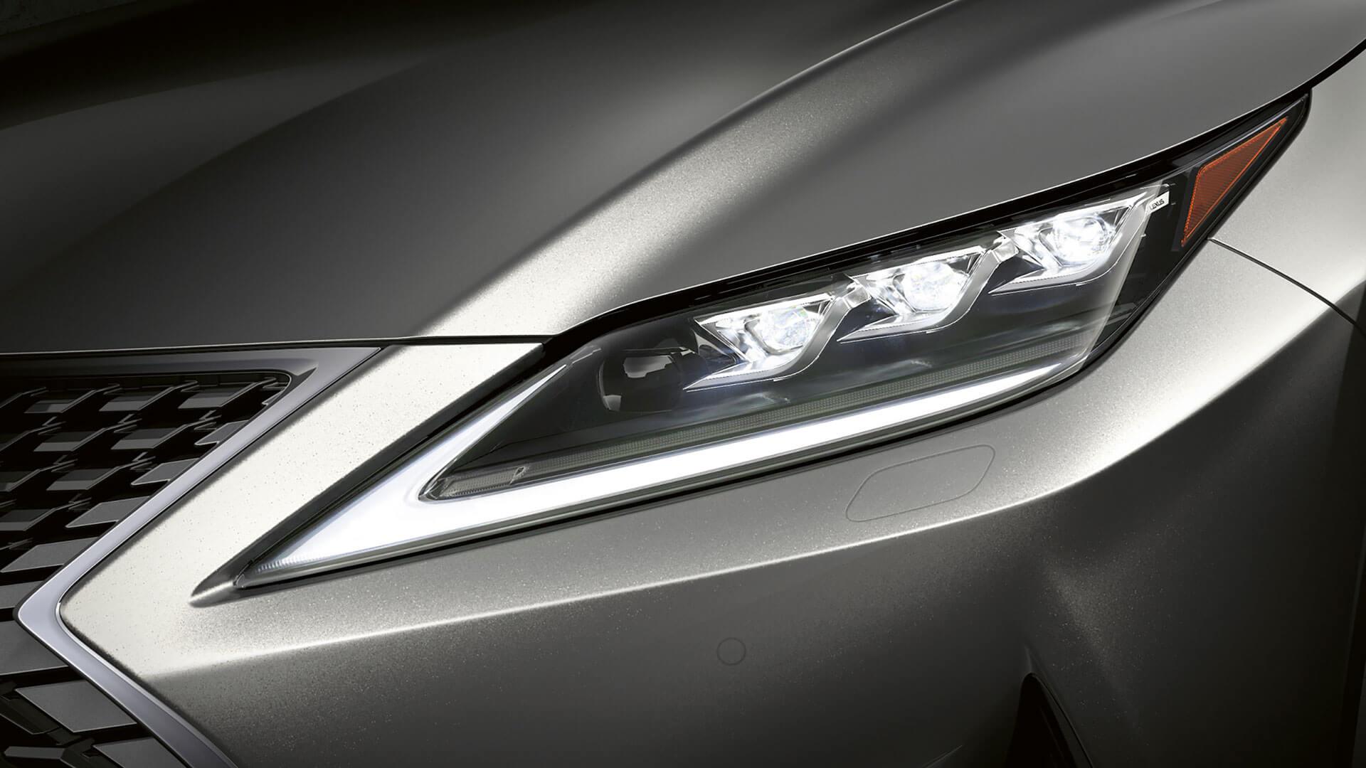 2019 lexus rx hotspot triple led headlights