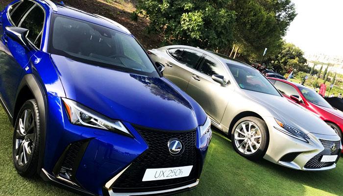 Lexus exhibió en Autobello Madrid 2018 el LC 500 el LS 500h y el UX 250h