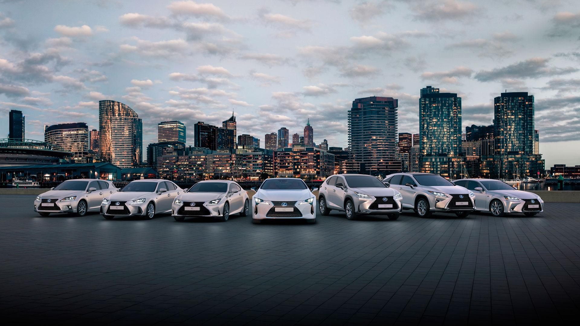 Lexus pone 1 millón de híbridos en la carretera hero asset
