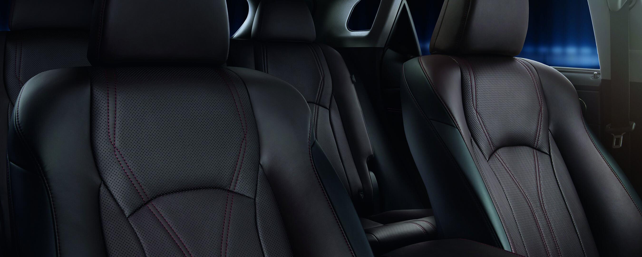 2017 lexus rx 450h experience interior back