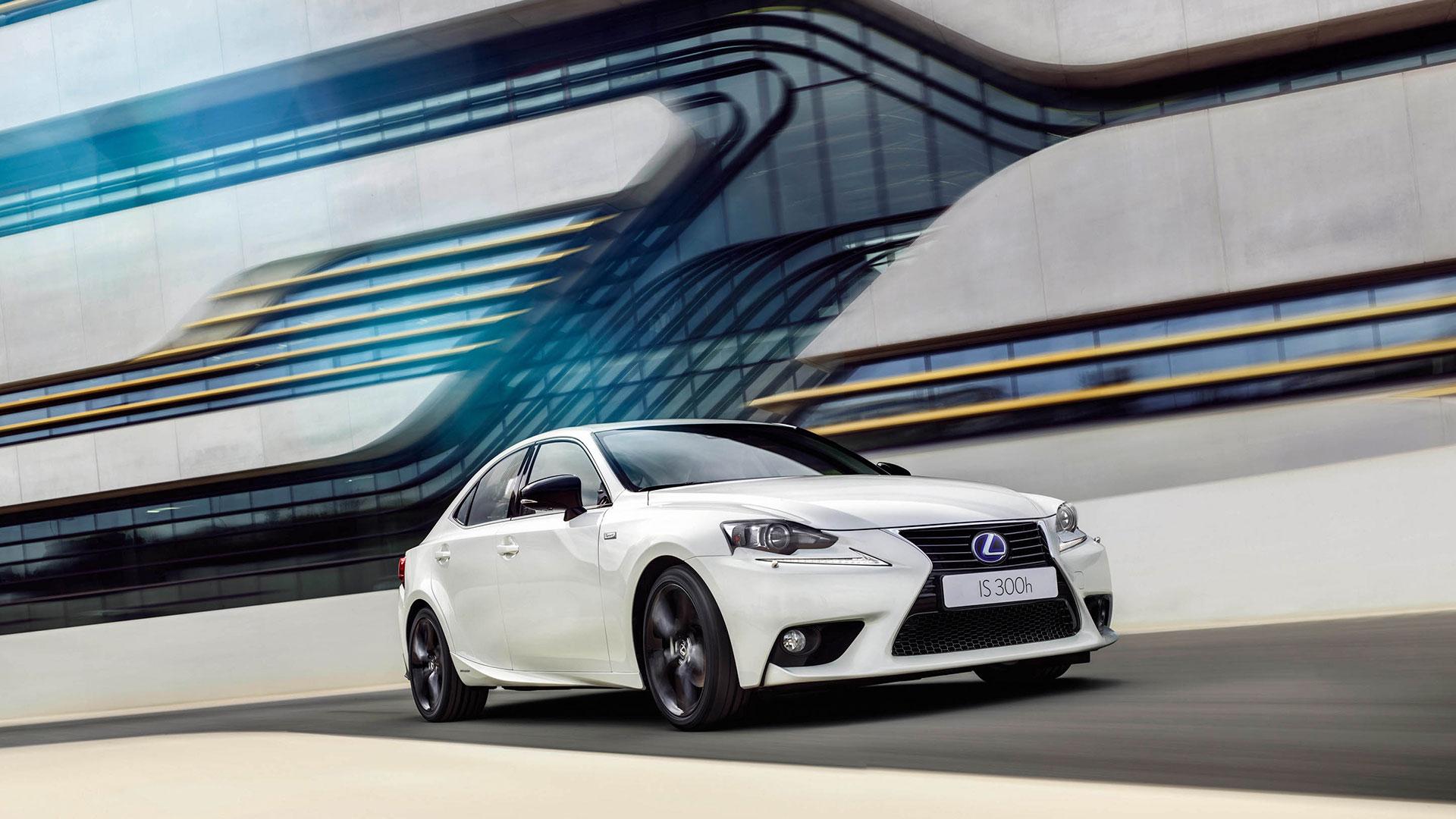Lexus presenta la nueva gama IS hero asset