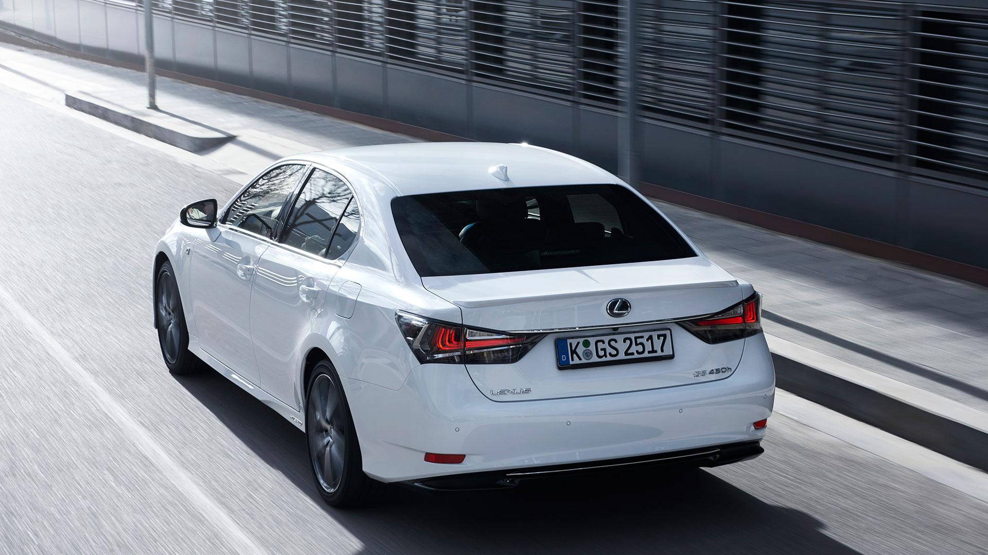 Pedidos del nuevo Lexus GS 450h hero asset