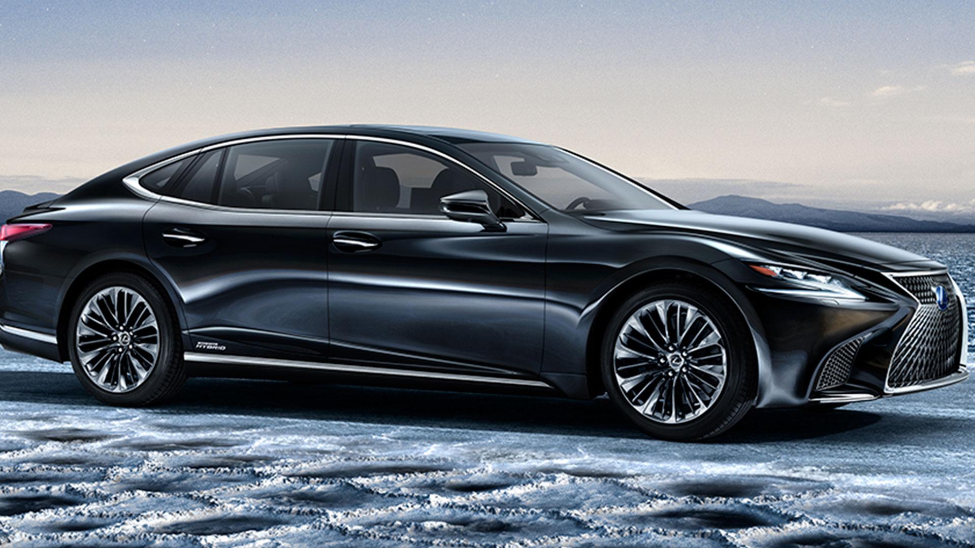nuevo Lexus LS 500h hero asset