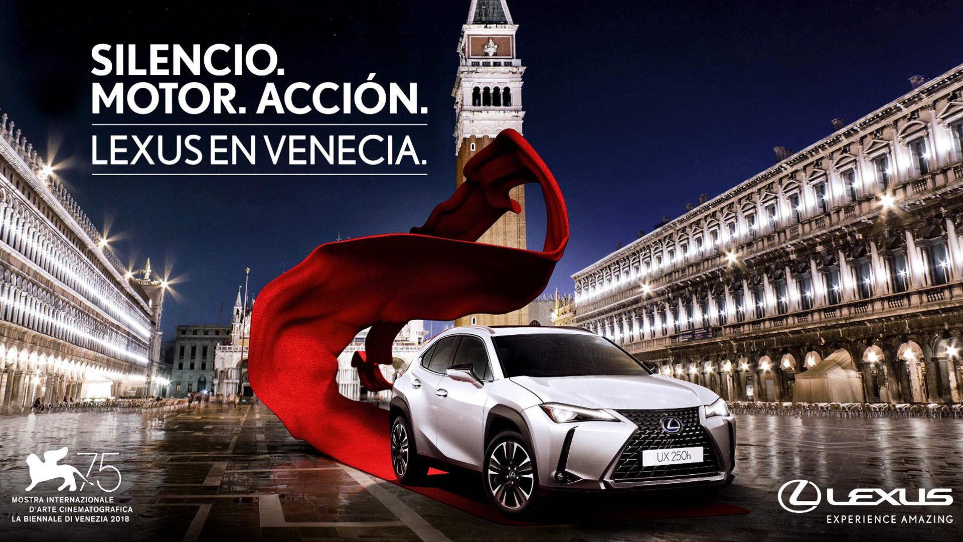 Lexus Festival Venecia 2018 hero asset