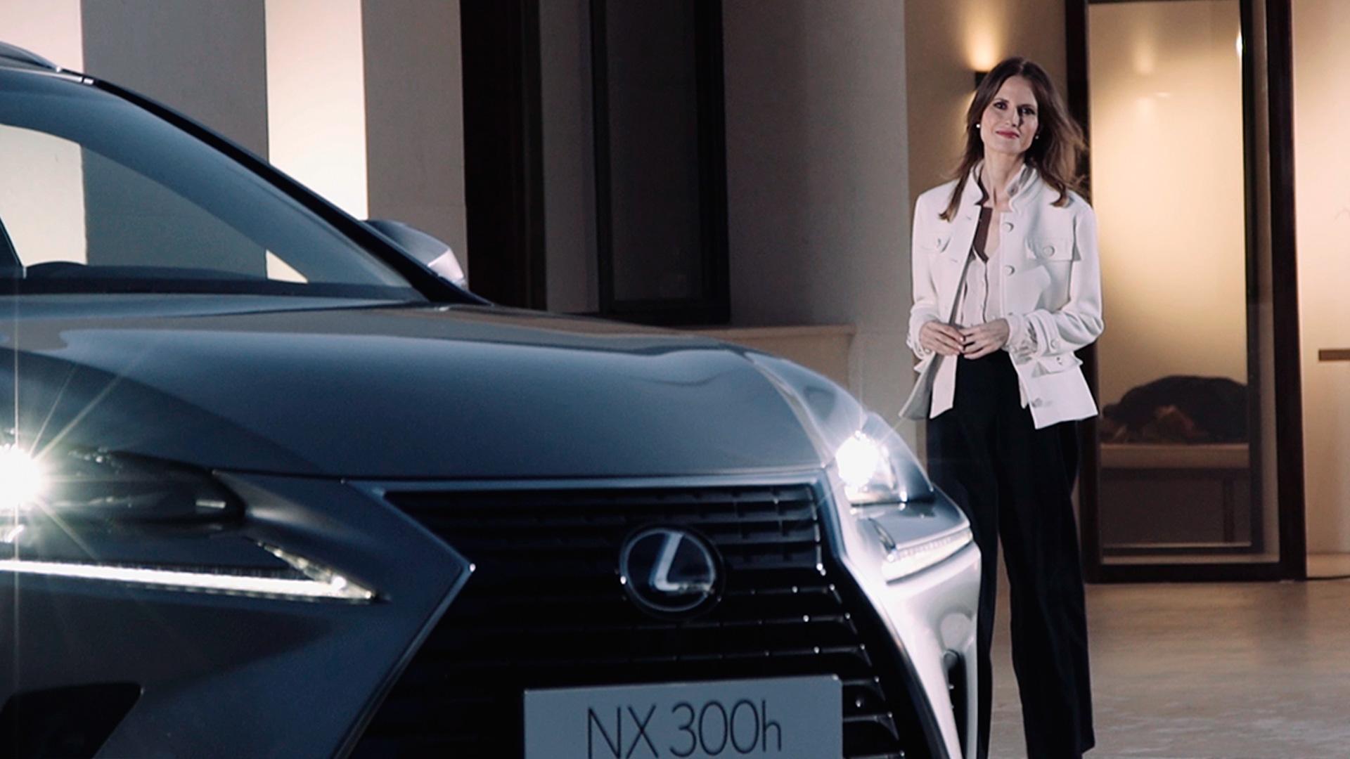 Inma Shara presenta junto con Lexus una Navidad excelente