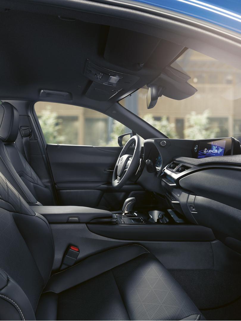 UX 300e interior