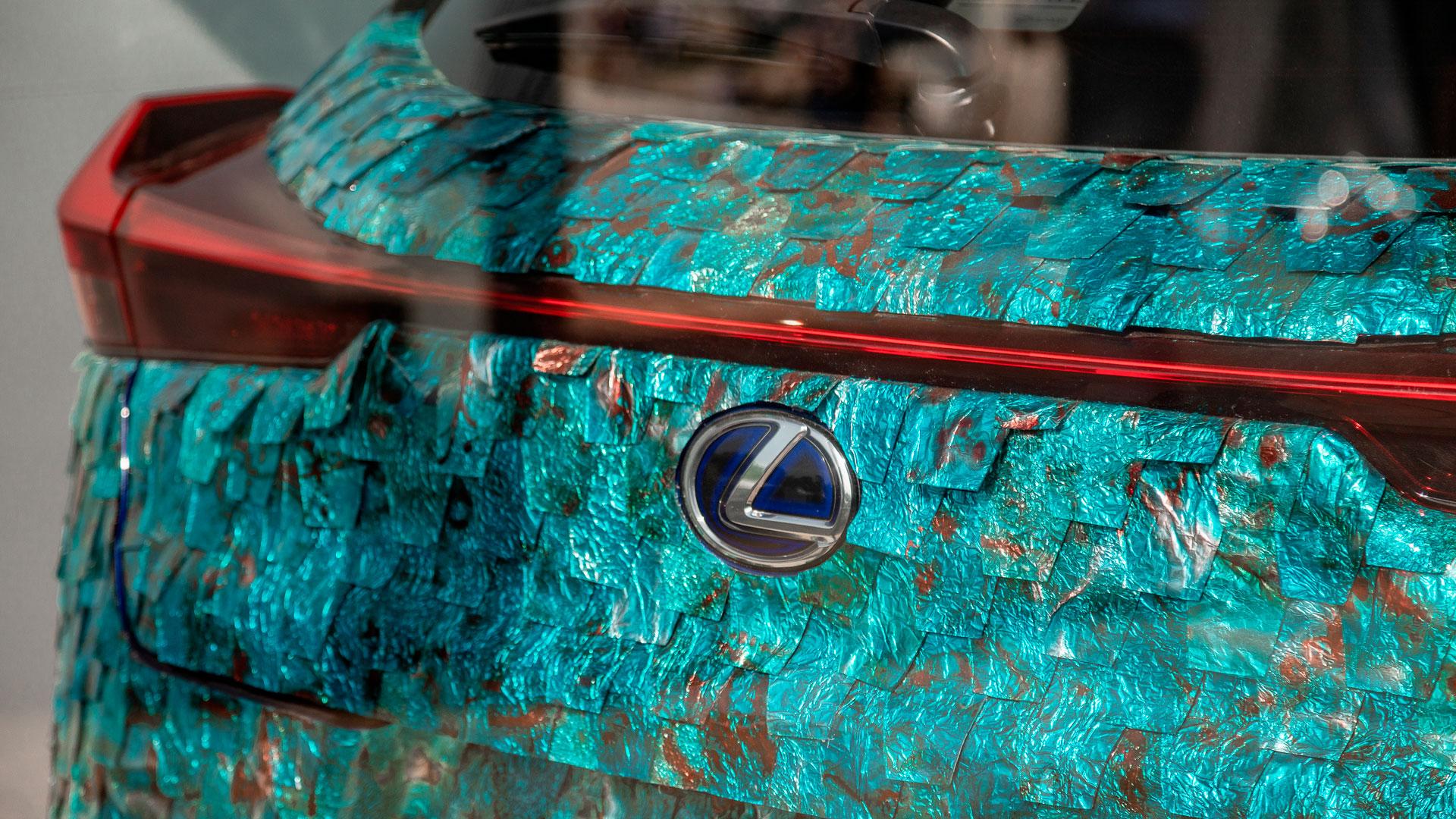 Imagen del Lexus Art Car de Antoñito y Manolín en Chantily