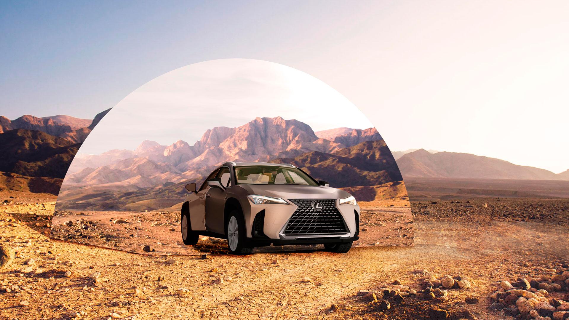 Imagen de los vehículos del Lexus Art Car