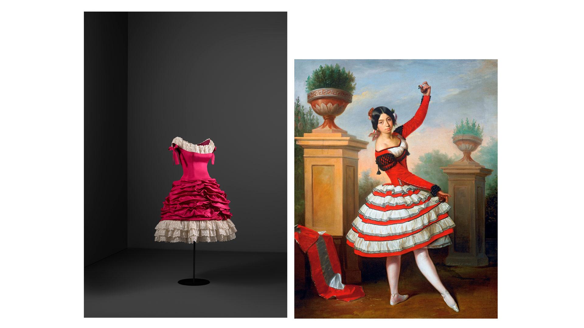 Imagen de la exposición Balenciaga y la pintura española