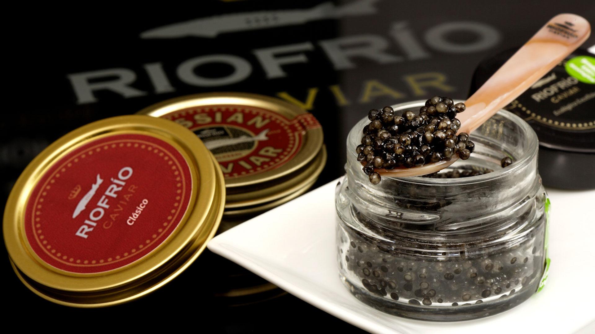 Imagen del caviar Riofrío