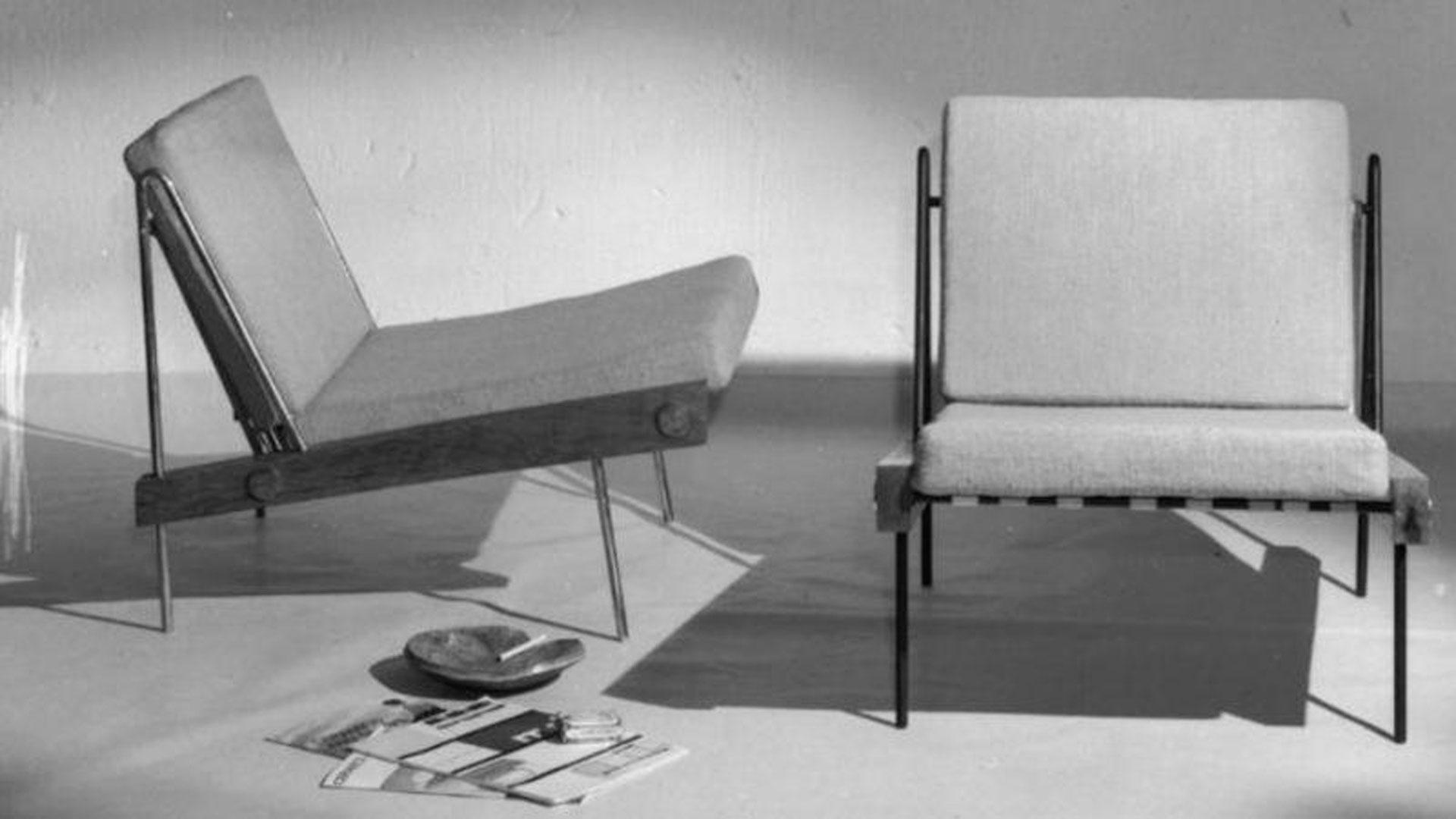Imagen de mobiliario diseñado por la firma Darro