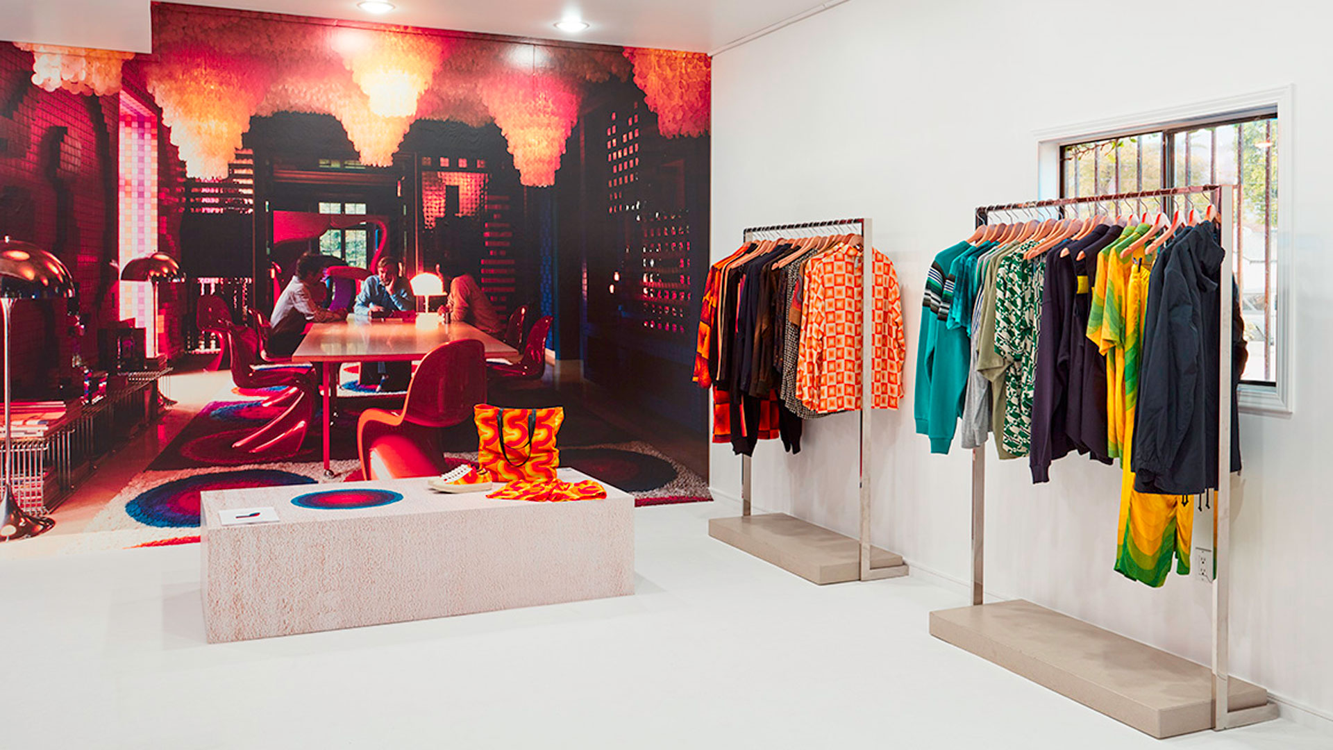 Imagen de la pop up stores de Dries van Noten en Open Ceremony