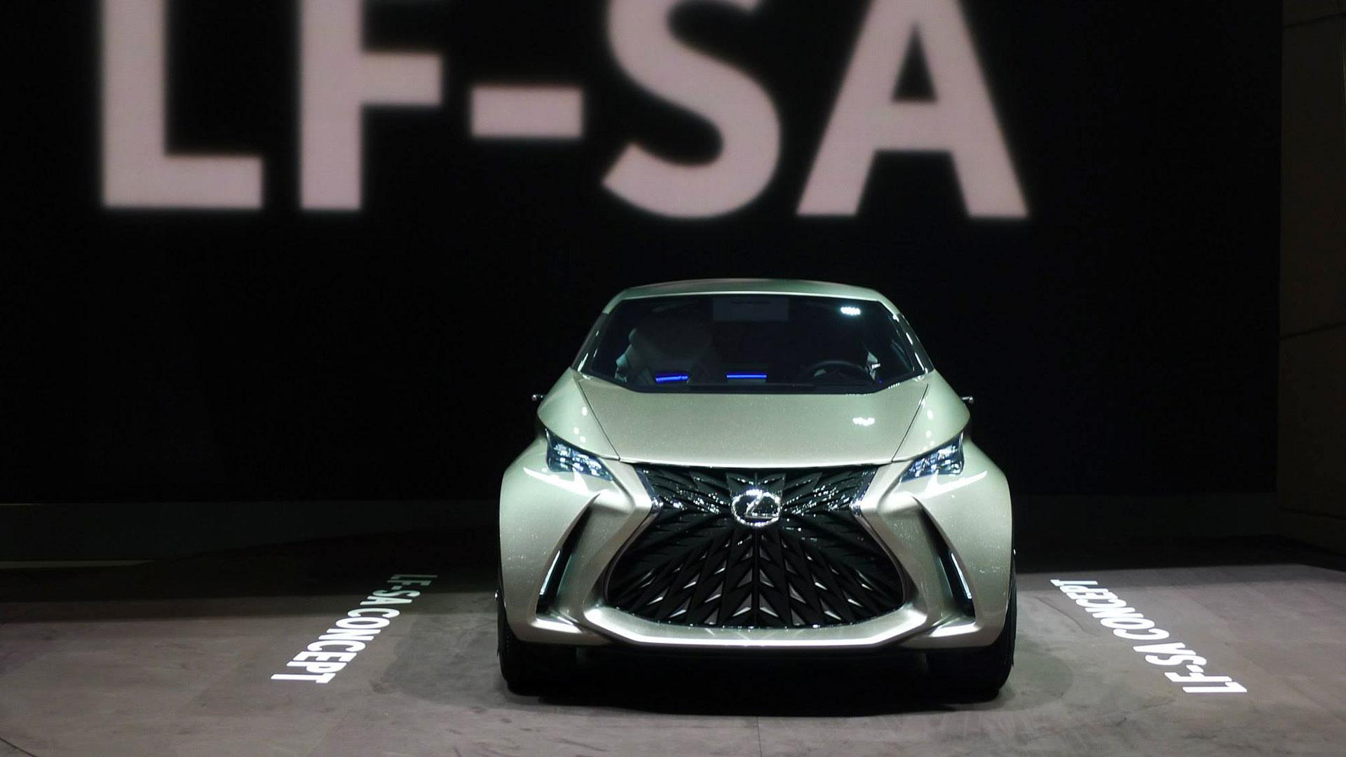 Lexus LF SA concept hero asset
