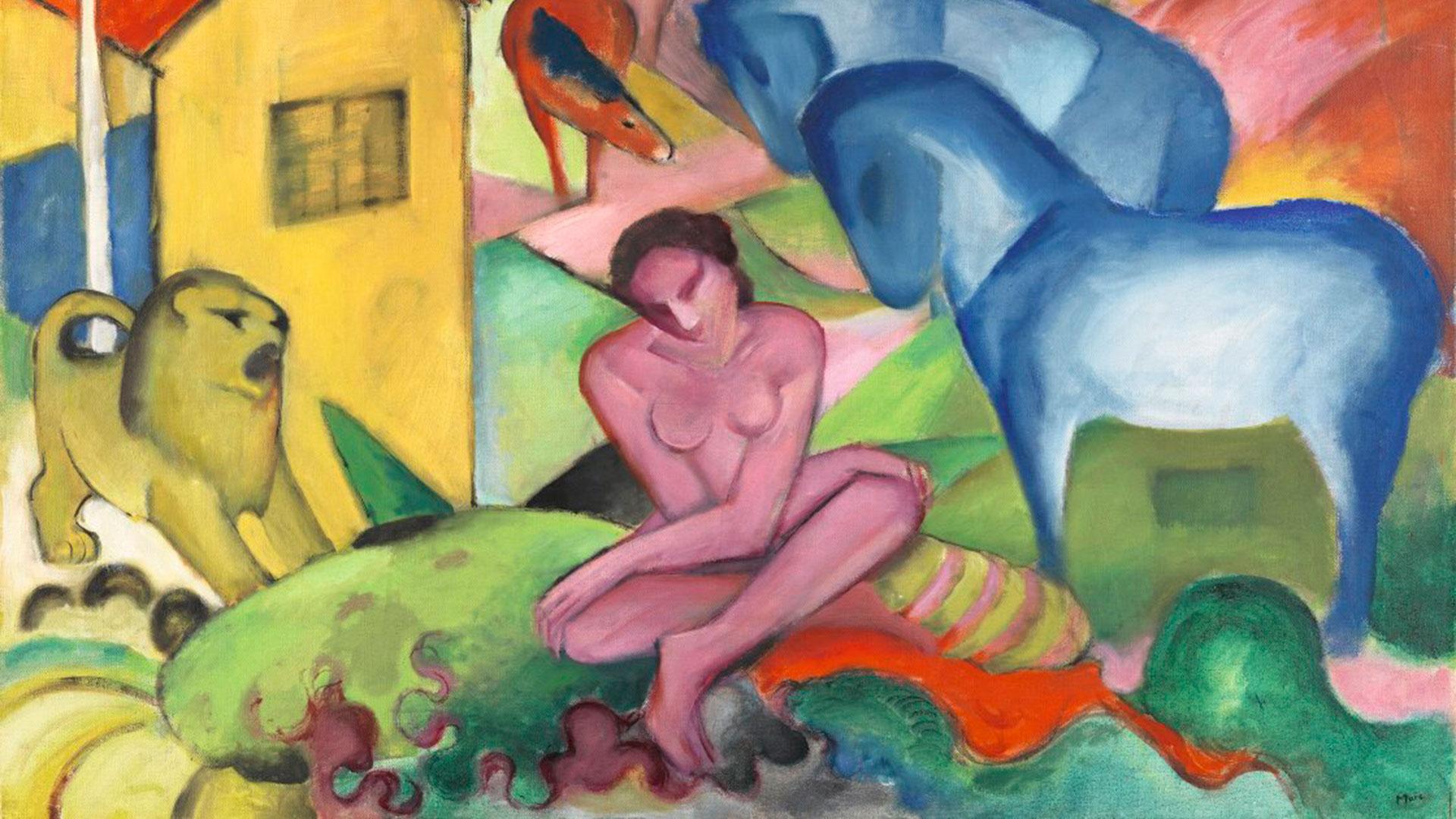 Imagen de pintura alemana del Thyssen Bornemisza