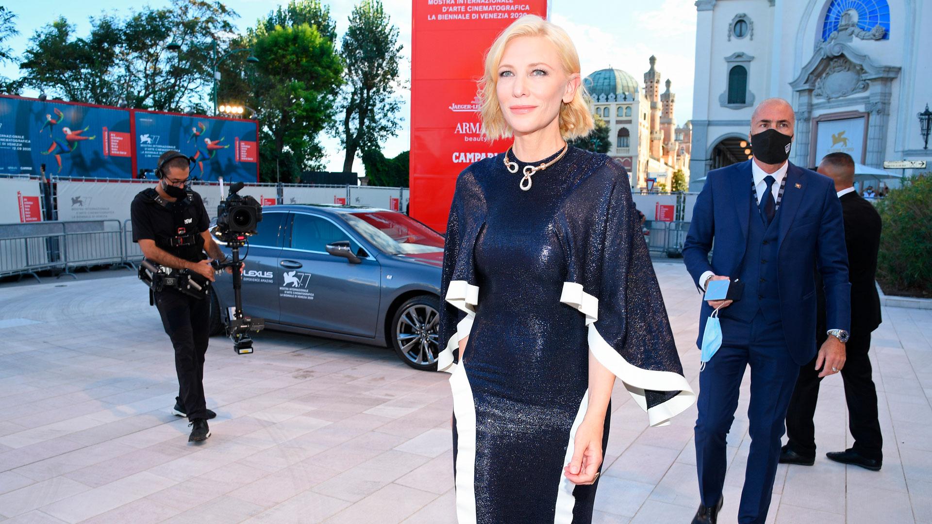 Imagen de Cate Blanchett en el Festival de Venecia