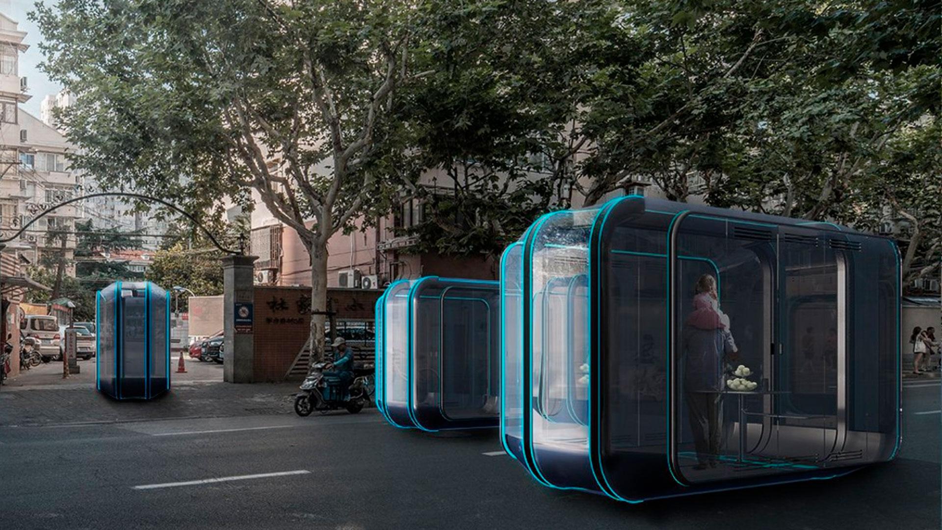 Futuro modular hero asset