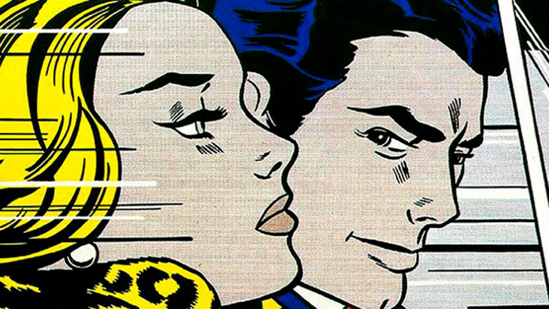 Obra de arte pop realizada por Roy Lichtenstein