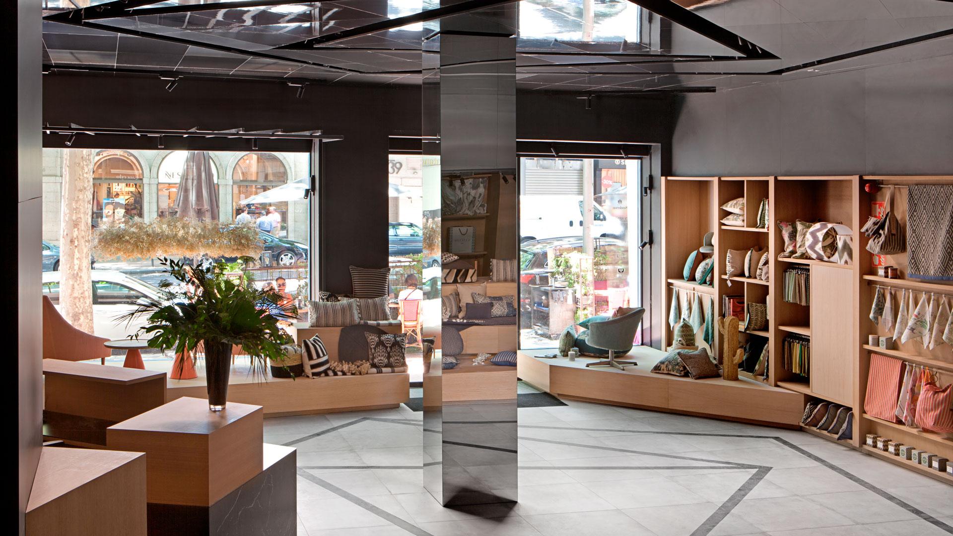 Imagen de la tienda de Gancedo en Madrid